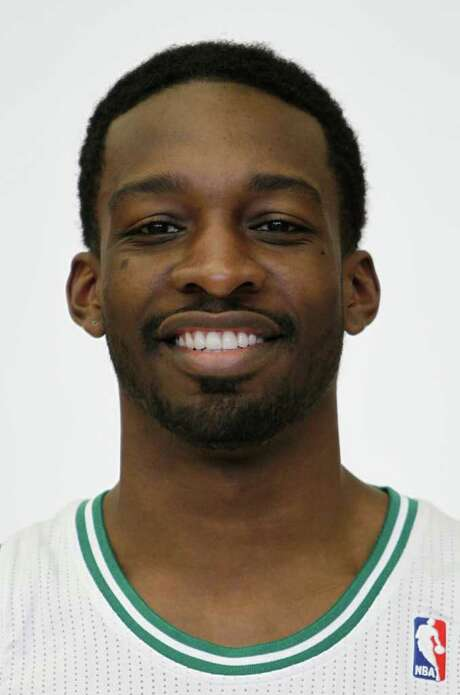 Boston Celtics NBA basketball player Jeff Green poses for a photo during Celtics media day in Waltham, Mass. Tuesday, Dec. 13, 2011. (AP Photo/Winslow Townson) Photo: Winslow Townson / FR170221 AP