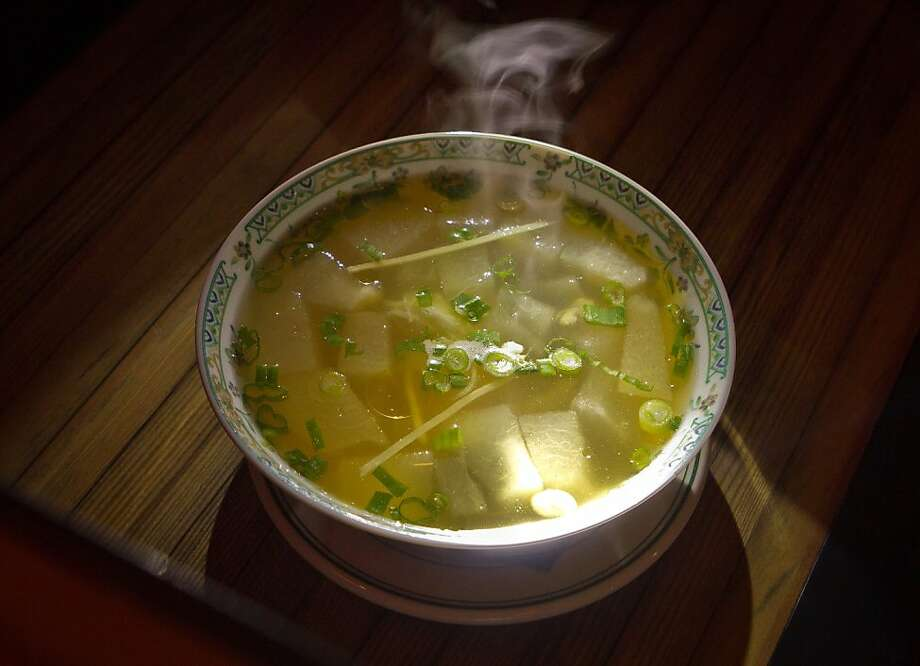 Winter Melon Soup at Wo Hing General Store in San Francisco, Calif., is seen on Sunday, December 11th,  2011. Photo: John Storey