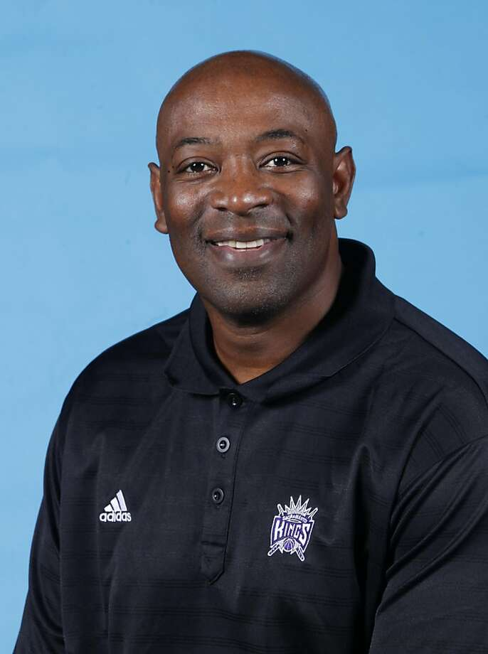 Sacramento Kings assistant coach Keith Smart attends NBA basketball media day in Sacramento, Calif., Thursday, Dec. 15, 2011.  Smart was fired as the head coach for the Golden State Warriors earlier in the year and joins head coach Paul Westphal's staff. (AP Photo/Rich Pedroncelli) Photo: Rich Pedroncelli, AP
