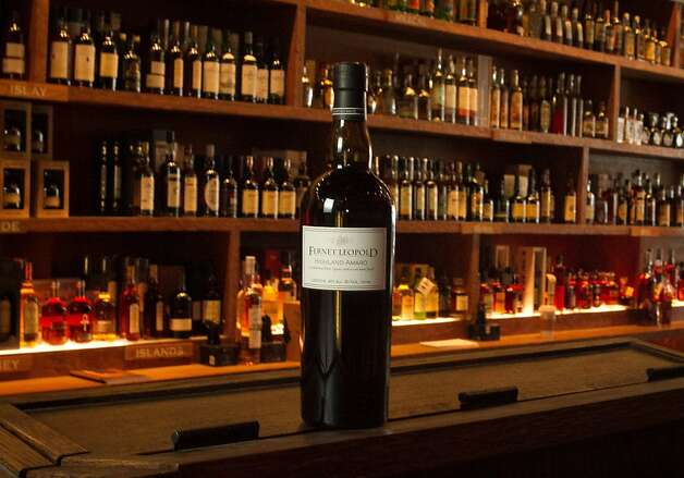A bottle of a new custom bottling of the digestivo known as Fernet, made by the Leopold Brothers distillery is seen at the Cask in San Francisco, Calif., on Thursday, December 15th,  2011. Photo: John Storey, Special To The Chronicle