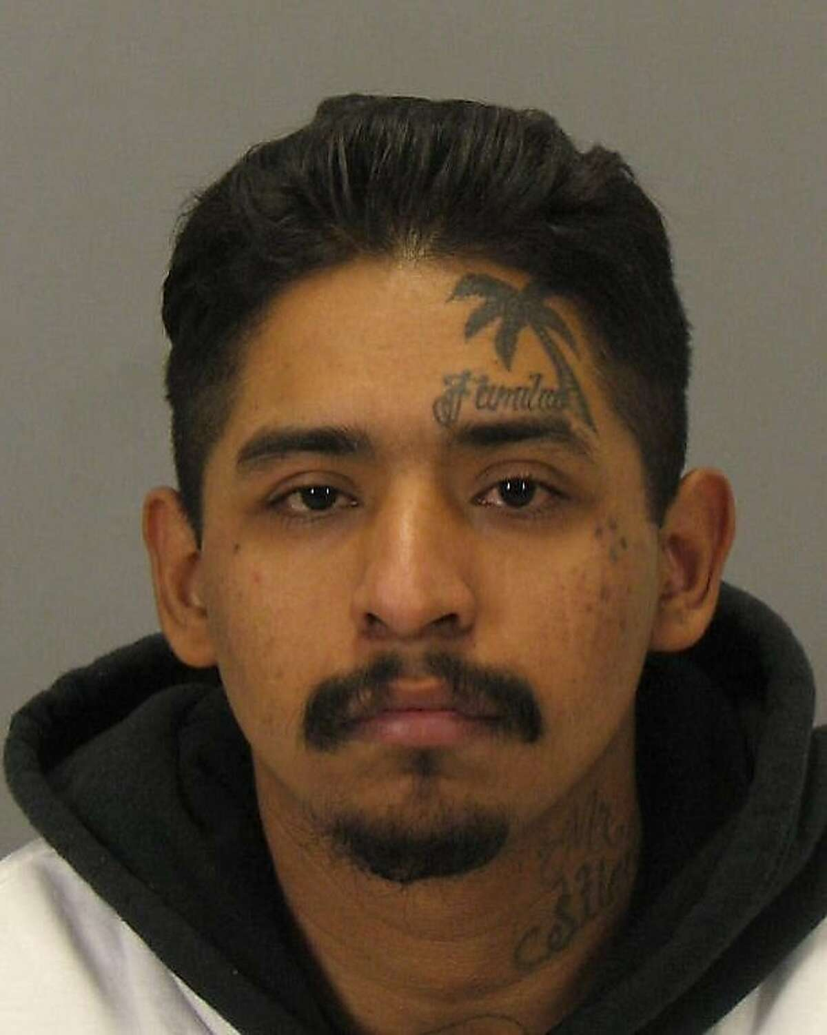 Manuel Fuentes, who allegedly ran from San Jose police and produced a gun from his waistband Dec. 16, 2011.