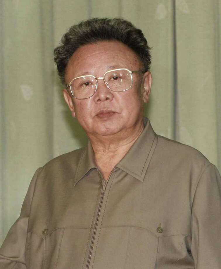GETTY IMAGES FILE WAS ILL: Kim Jong Il, who suffered a stroke in 2008,  has died at 69. Photo: Pool / 2007 Getty Images