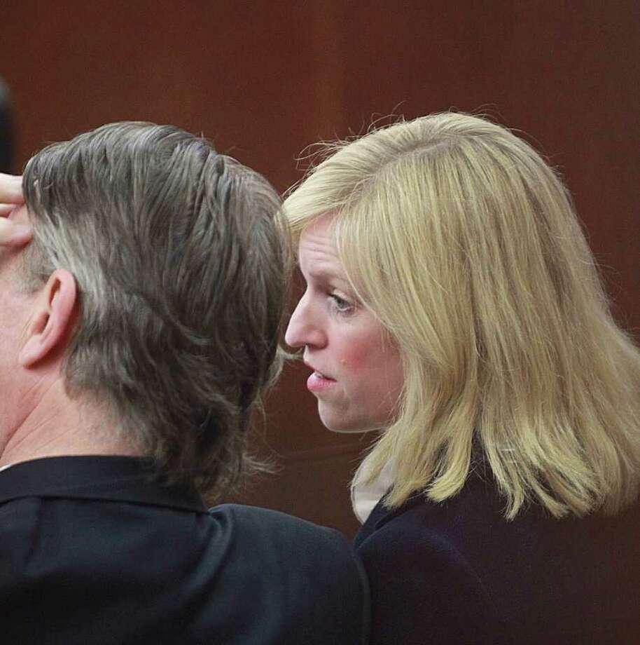 Assistant District Attorney Rachel Palmer appears at a criminal court hearing in Houston on Monday, Dec. 19. 2011. Photo: Nick De La Torre