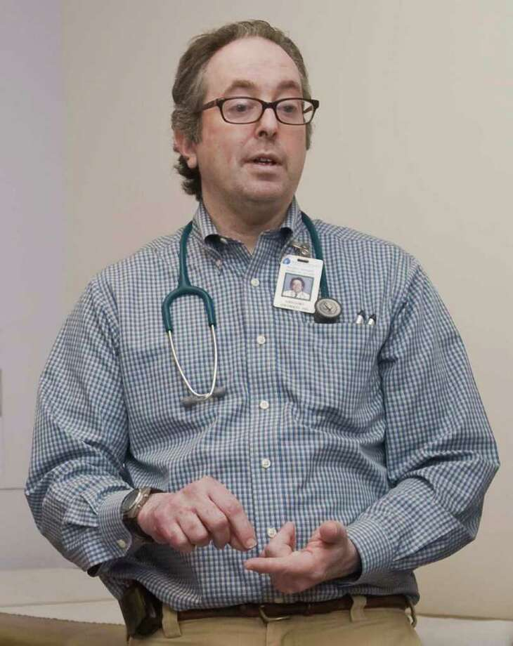 Dr. Gregory Dworkin, chief of pediatric pulminology at Danbury Hospital and a national flu expert is pictured in this file photo. Photo: File Photo / The News-Times File Photo