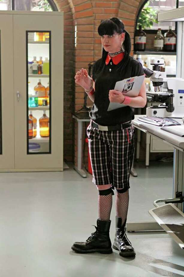 CBS QUIRKY: Pauley Perrette stars as forensic scientist Abby Sciuto on the hit CBS show NCIS. Photo: CBS / ©2011 CBS Broadcasting Inc. All Rights Reserved
