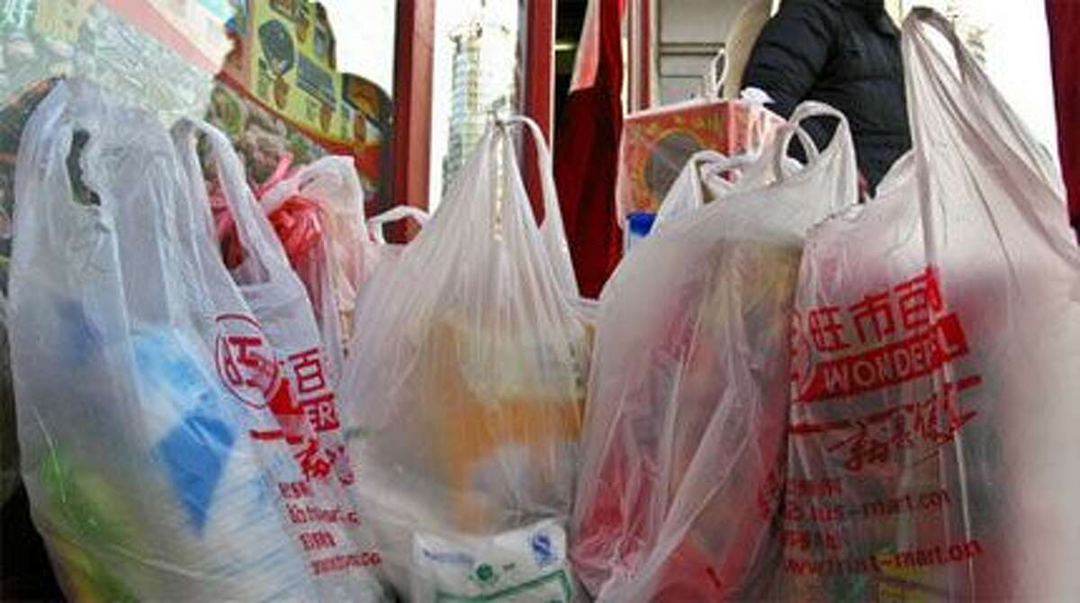 Plastic bags -- Canada is going to ban them.
