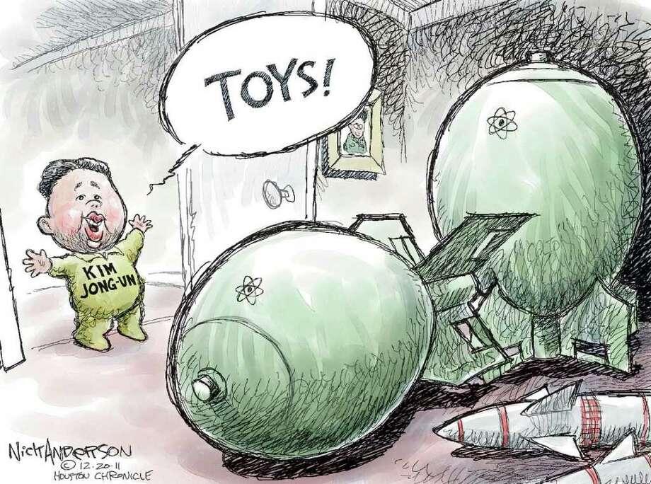 Today's editorial cartoon Photo: Nick Anderson