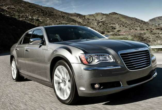 The 2012 Chrysler 300 V-6 models are now available with an eight-speed automatic transmission, which gives them an EPa highway rating of 31 mpg. Photo: Chrysler Group LLC.