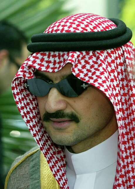 AFP/GETTY IMAGES FILE INVESTOR: Saudi Prince Walid bin Talal has assets of $21 billion. Photo: RABIH MOGHRABI / AFP