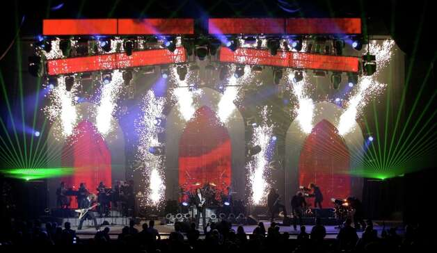 Image from the 2010 winter tour of Trans-Siberian Orchestra Photo: Courtesy Mark Weiss