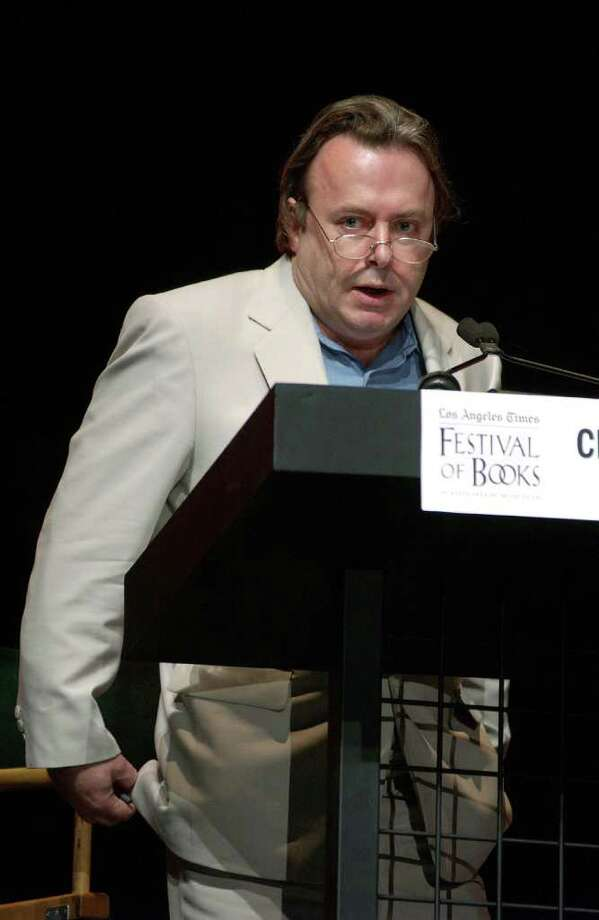 Christopher Hitchens, who died last week, fearlessly used his pen to defend the defendless.   Photo: Getty Images, File Photo / 2004 Getty Images