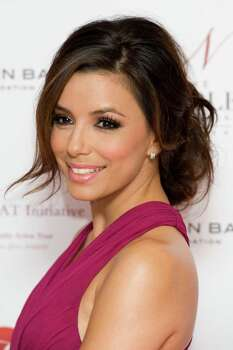 U.S actress Eva Longoria arrives for the Noble Gift Gala, at a central London venue, Saturday, Dec. 10, 2011. Photo: Jonathan Short, AP / AP