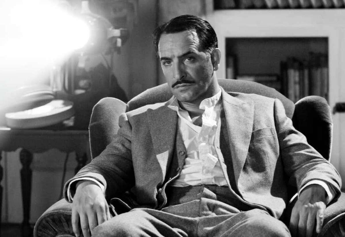 Jean Dujardin as silent-film star George Valentin in