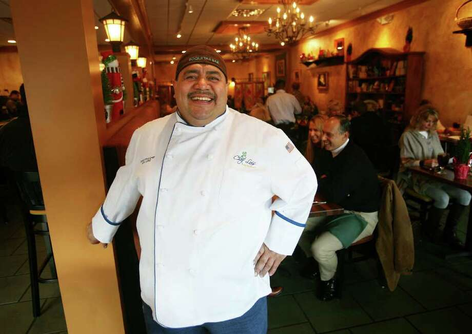 Owner Luis Lopez at Chef Luis Restaurant at 129 Elm Street in New Canaan. Photo: Brian A. Pounds / Connecticut Post