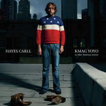 CD COVER -  Hayes Carll album KMAG YOYO and Other American Stories  credit: Lost Highway / handout