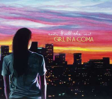 """Girl In A Coma CD cover for """"Exits & All The Rest"""" Blackheart Records Photo: --"""