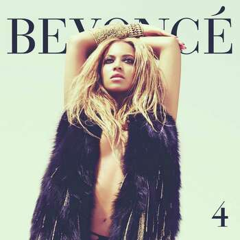 Beyonce  releases new album 4 June 28, 2011. CD cover art. Photo: Cover Art