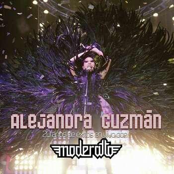 """Alejandra Guzman, Mexican rock-singer, cover of her latest CD, """"20 a os de  xitos en vivo con Moderatto"""" Photo: EMI Music"""