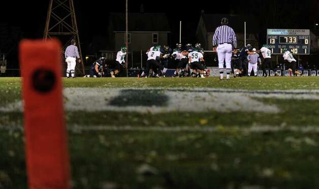 A look at the Ansonia football program and the multi-generational reach it has, during a recent game against Wilby in Ansonia, Conn. on Friday November 11, 2011. Photo: Christian Abraham / Connecticut Post