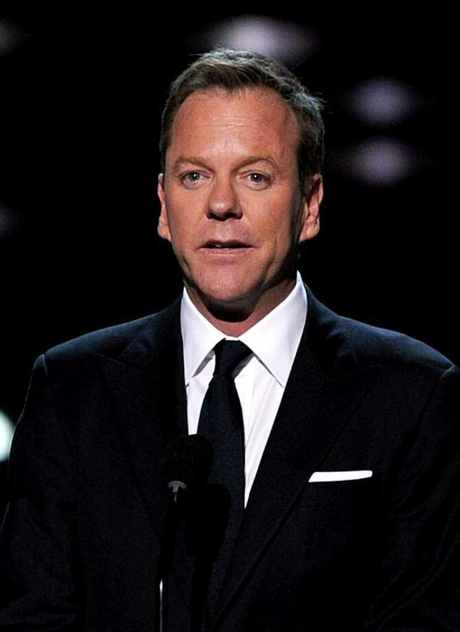 LOS ANGELES, CA - JULY 13:  Actor Kiefer Sutherland speaks The 2011 ESPY Awards at Nokia Theatre L.A. Live on July 13, 2011 in Los Angeles, California. Photo: Kevin Winter, Getty Images / 2011 Getty Images