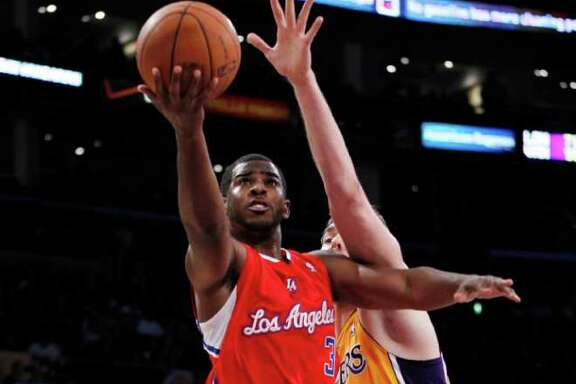 DANNY MOLOSHOK: AP L.A.YUP: Point guard Chris Paul's preseason debut with the Clippers on Monday night drew 509,000 viewers, a record for a preseason game shown on NBA TV.