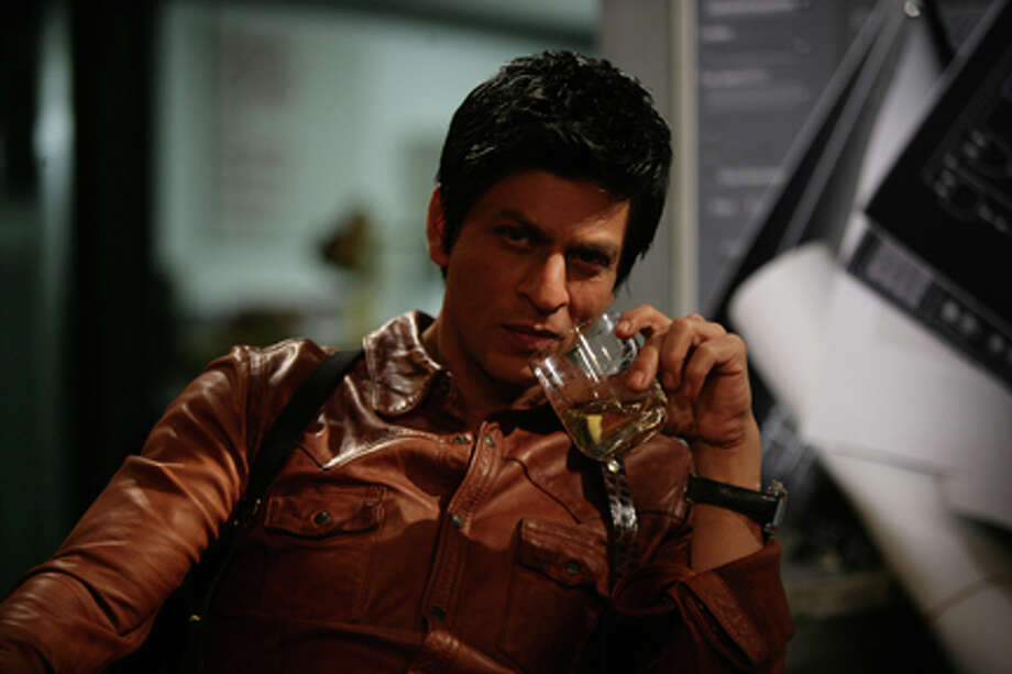 "Shah Rukh Khan as Don in ""Don 2."""