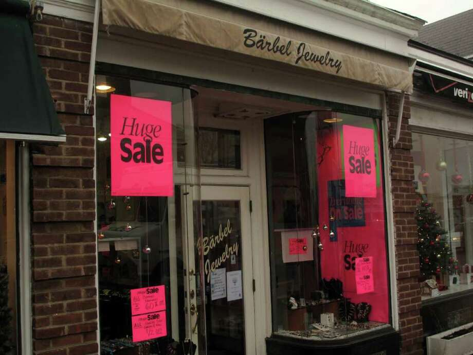 After more than 25 years of serving New Canaan, Barbel Jewelry will close its doors this January. Photo: Paresh Jha