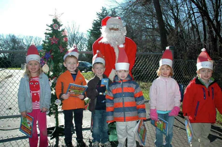 Pre-K students Sophie Morrow, Brian McCarthy, Sean Pokorny, Foster Graseck, Alexia Buchesky and Sebastian Torres. Photo: Contributed Photo
