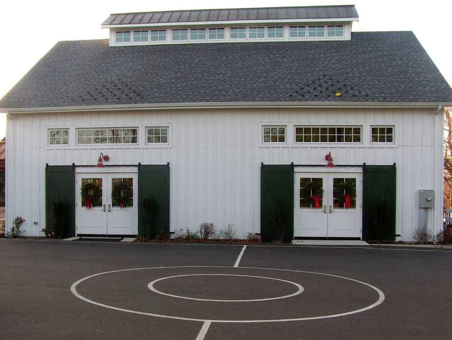 Pear Tree Point School dedicated its new gym recently. Photo: Contributed Photo / Darien News
