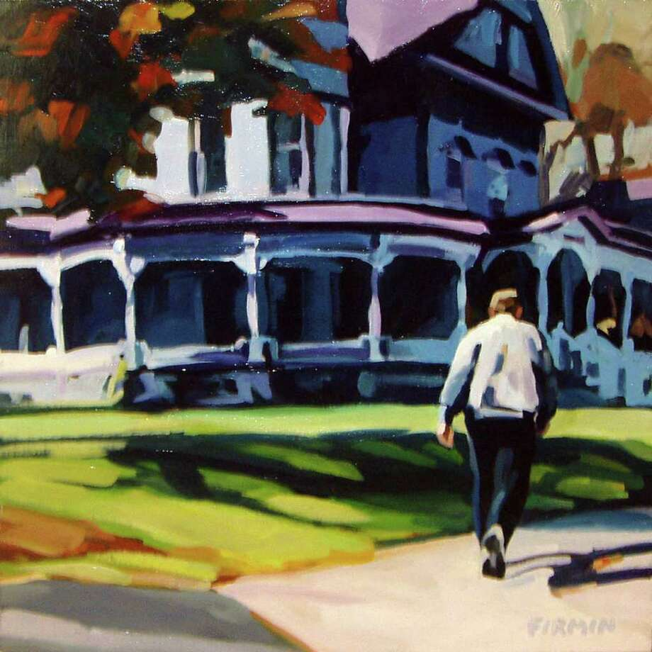 WINDHAM FINE ARTS GALLERY ?WILBER MANSION LATE AFTERNOON? is among the works on display in ?Beholden to Beauty? at the Windham Fine Arts Gallery through Jan. 16.