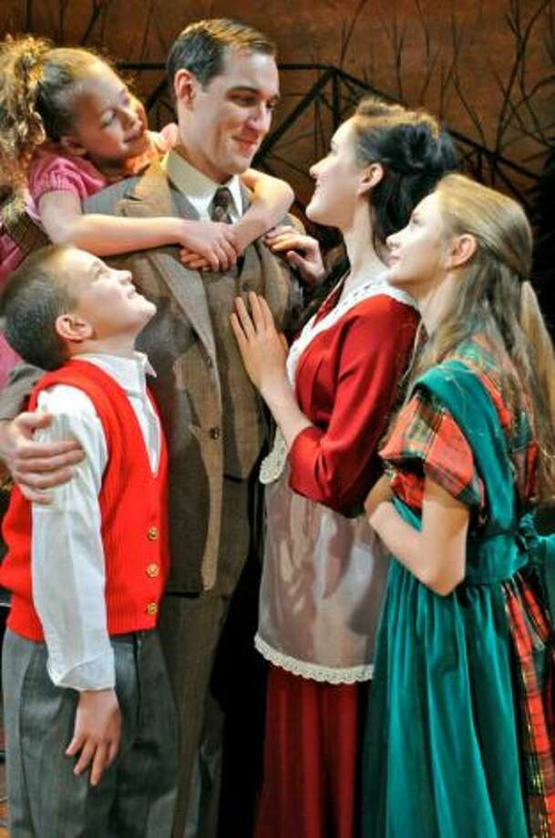 Brad Heikes stars as George Bailey in the Cohoes Music Hall's production of ''A Wonderful Life.'' (Cohoes Music Hall photo)