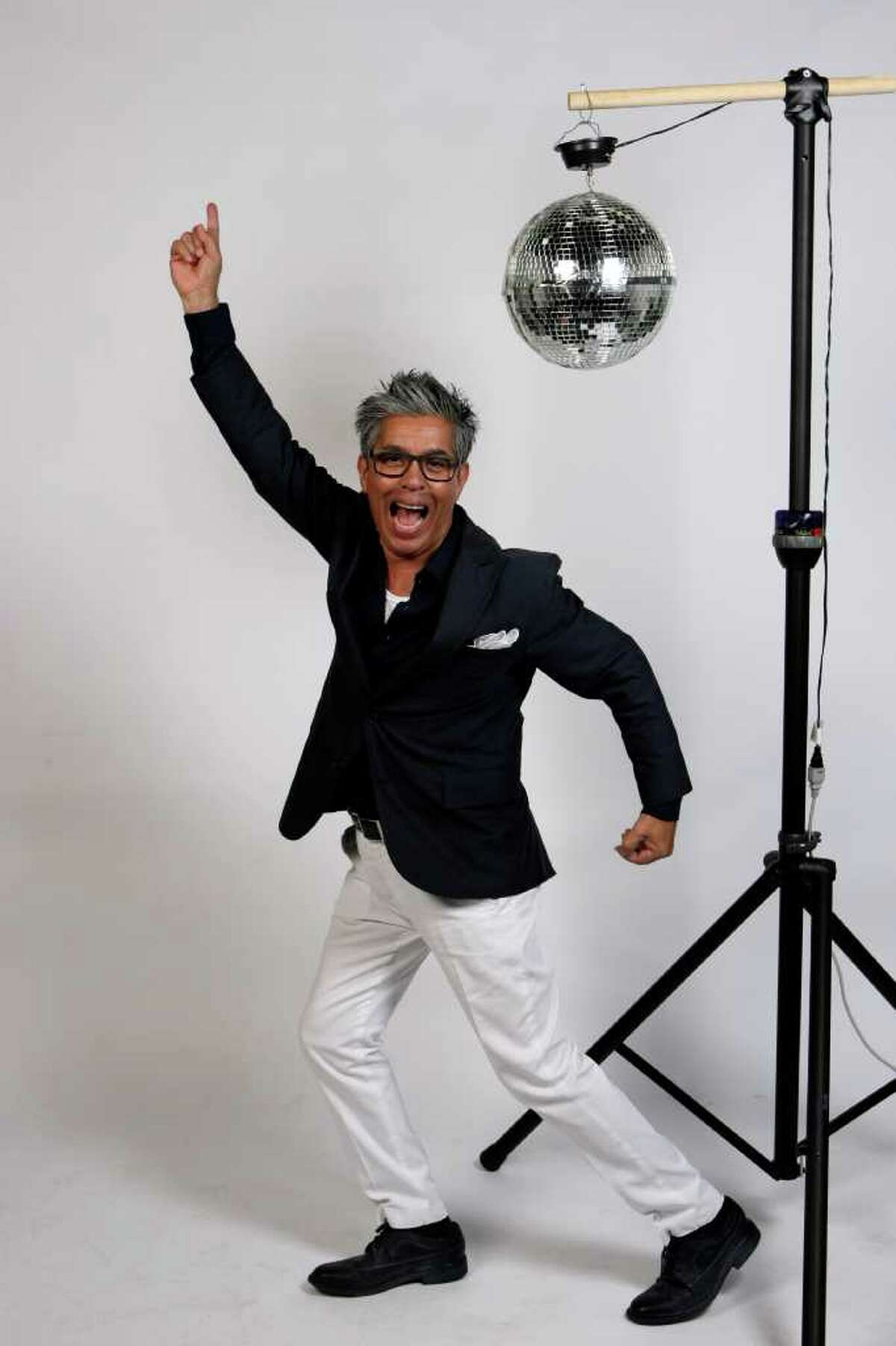 The Express-News' Michael Quintanilla wants Santa Claus to bring him a new disco ball for Christmas.