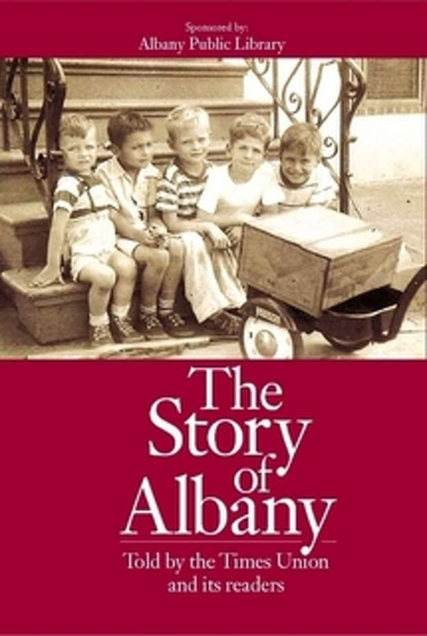 """The Story of Albany"" book."
