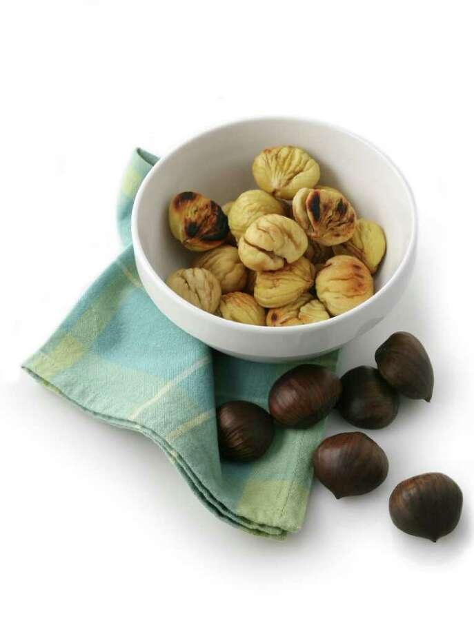 Roasted Chestnuts. (Washington Post photo by Julia Ewan.) Photo: EWAN / WASHINGTON POST