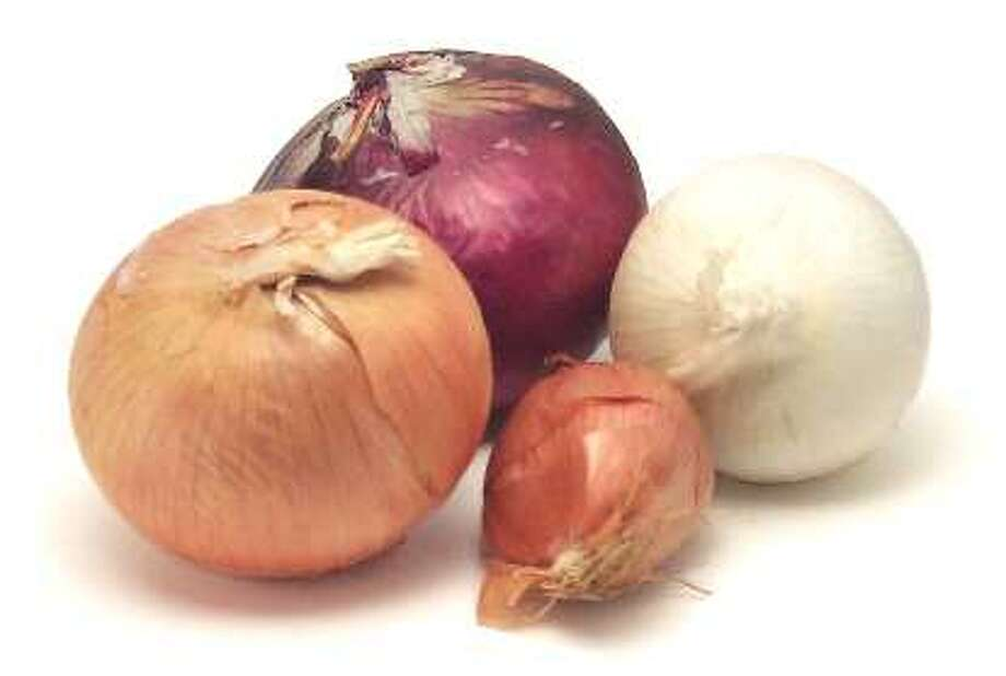 A variety of onions (Times Union archive)