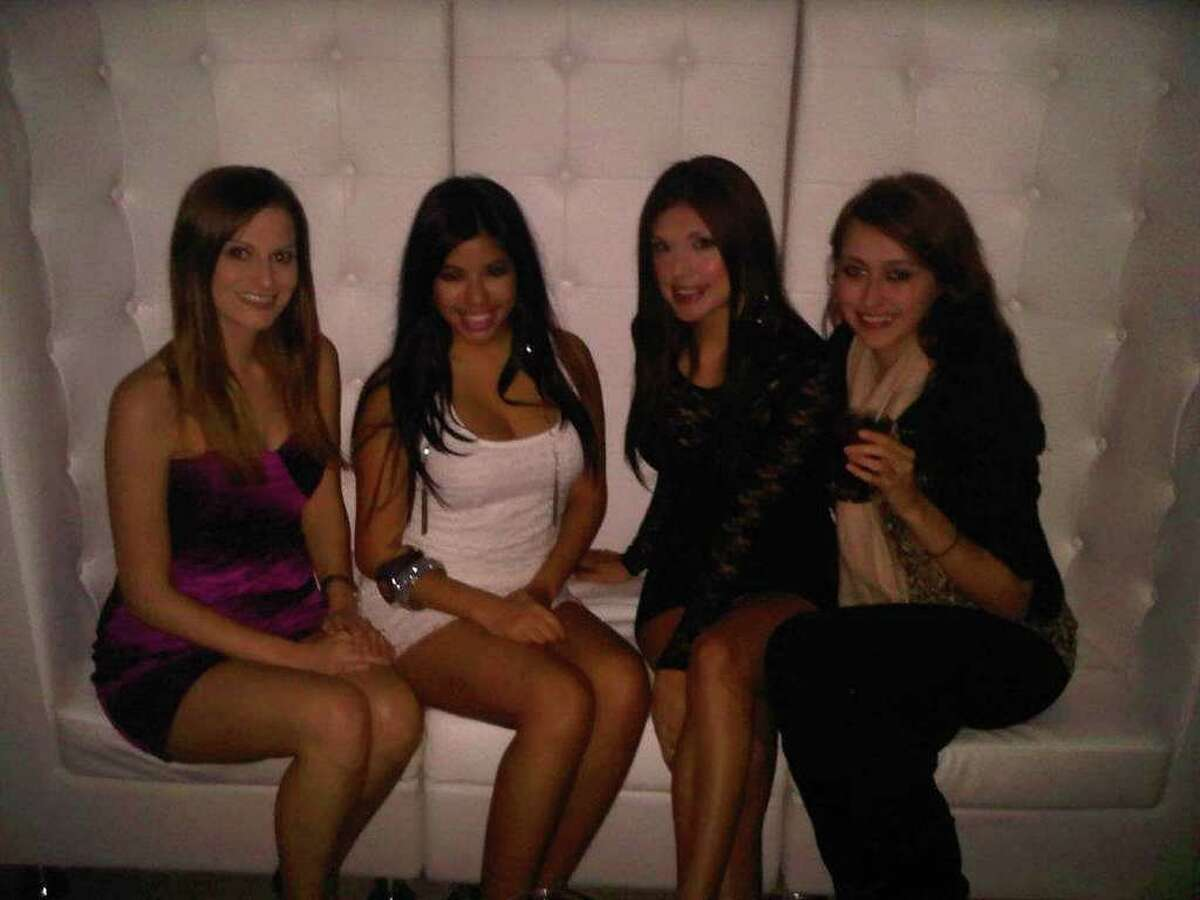 Lindsey Shiran, Raquel Sandoval, Regina Garcia and Dora Rhodes at The Ivory Lounge