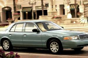 The Ford Crown Victoria is one of the vehicles being discontinued.
