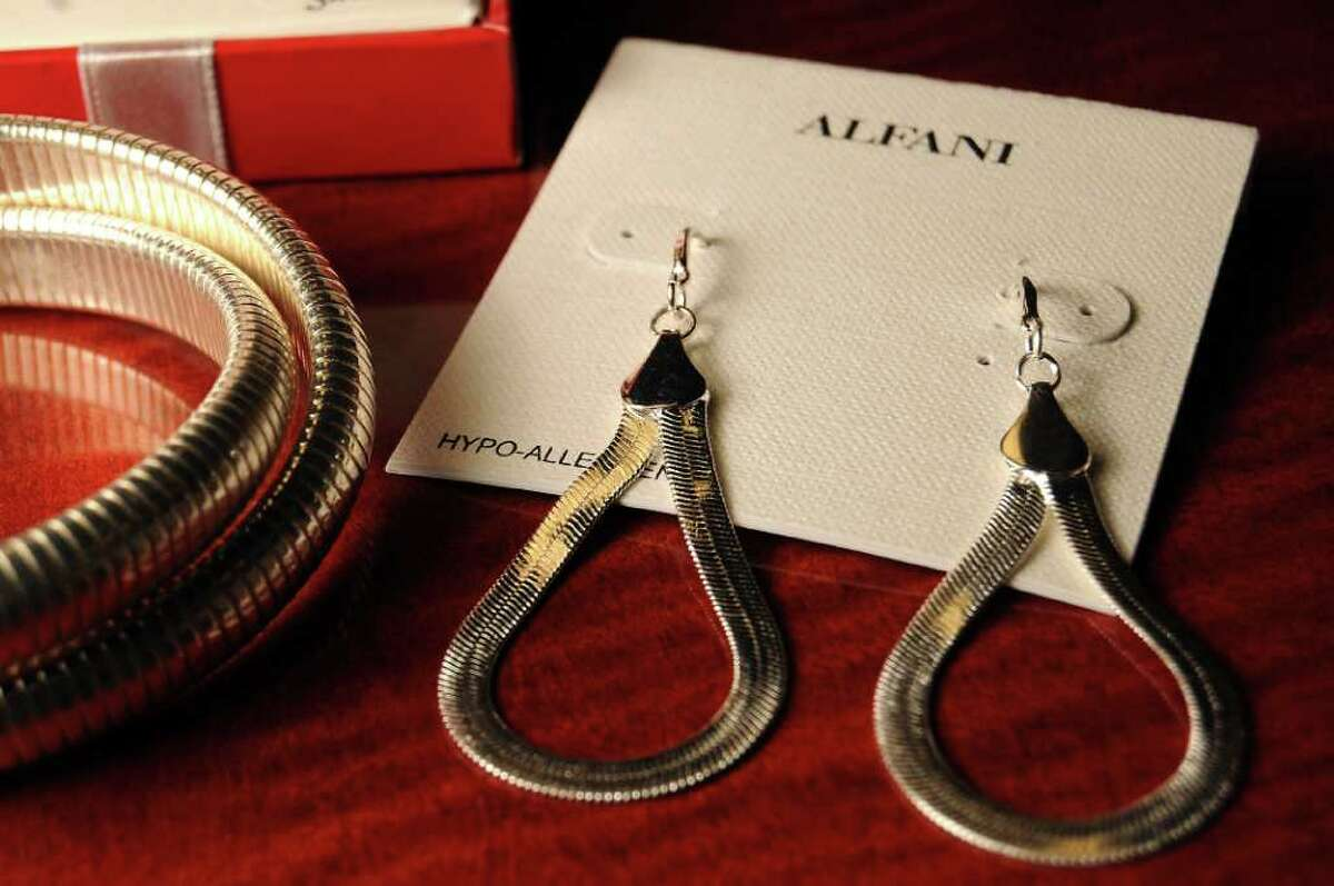 Alfani jewelry at the Macy's Store at Memorial City Mall Wednesday Dec. 21,2011.