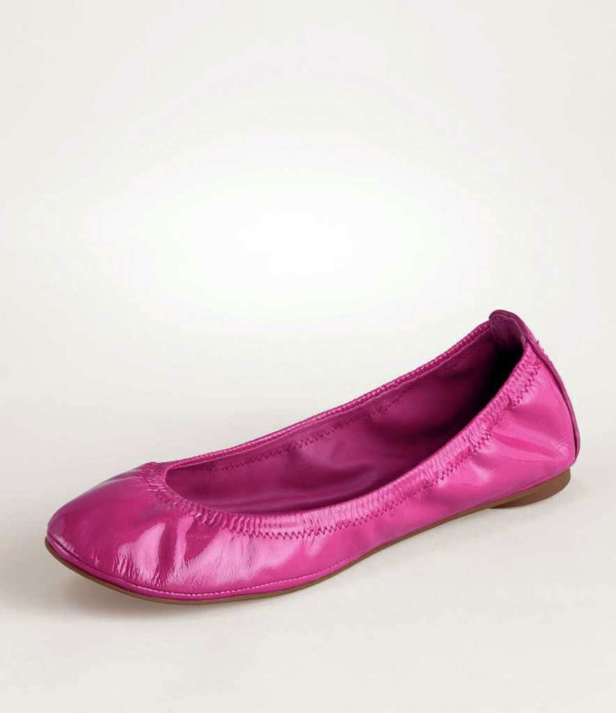 Tory Burch?s Eddie Ballet Flat, $178 at Tory Burch stores and toryburch.com, is a great gift choice.