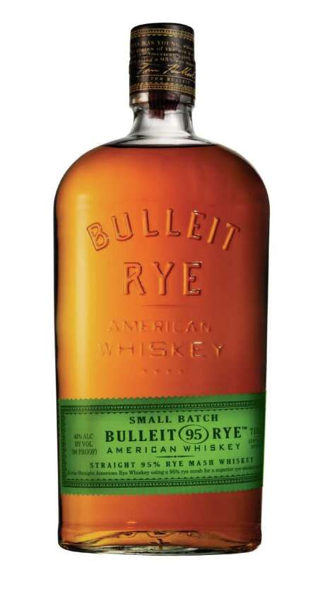 Bulleit Rye American Whiskey is a new straight rye whiskey made of 95 percent rye mash and 5 percent malted barley. Photo: Bulleit