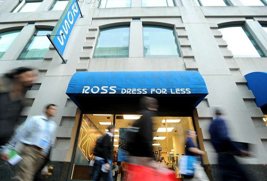 Pedestrians pass a Ross store in San Francisco, California, U.S., on Tuesday, Aug. 30, 2011. Photographer: Noah Berger/Bloomberg Photo: Noah Berger, Bloomberg