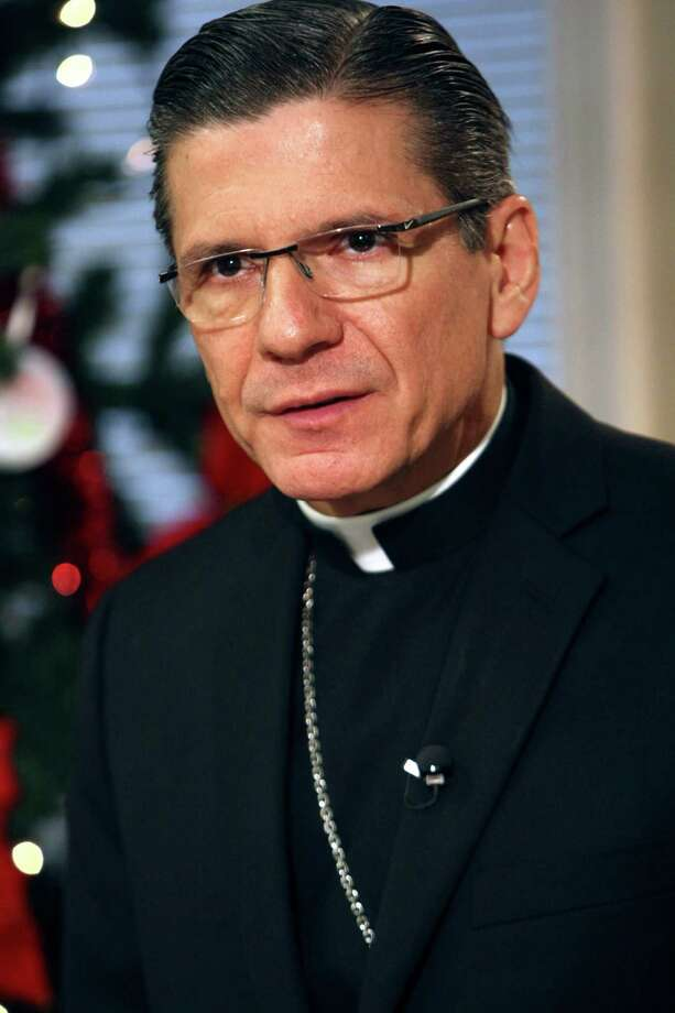 Archbishop Gustavo García-Siller Photo: HELEN L. MONTOYA, San Antonio Express-News / SAN ANTONIO EXPRESS-NEWS