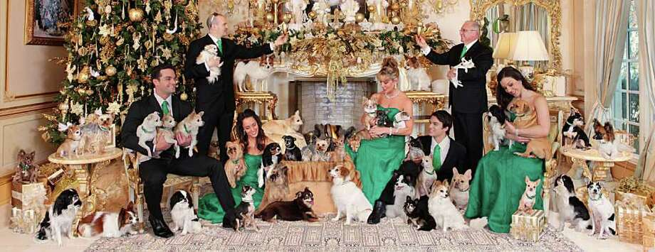 Riggi holiday photo. (Bruce Curtis / Imagine! Photography & Design) Find out the story behind holiday pet photos like this.