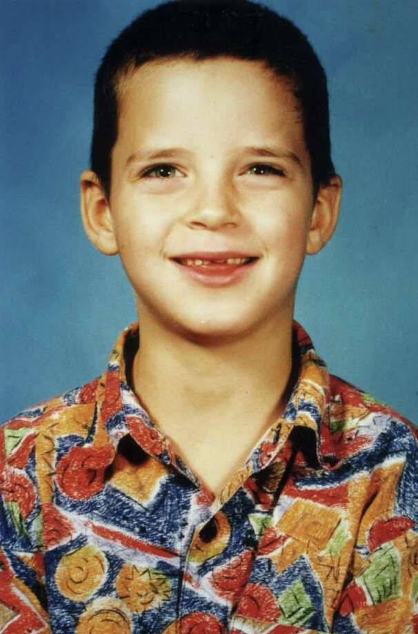 Robbie Middleton, seen before the attack, was set on fire on June 28, 1998, his 8th birthday. / handout