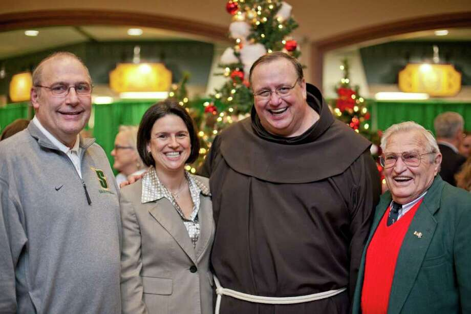 Were you Seen at Father Kevin Mullen's Christmas Party at Siena College on Wednesday, Dec. 21? Photo: Dan Pepe/Hitch Photography