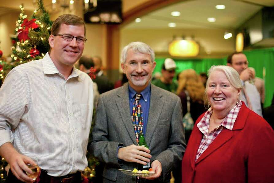 Were you Seen at Father Kevin Mullen's Christmas Party at Siena College on Wednesday, Dec. 21?