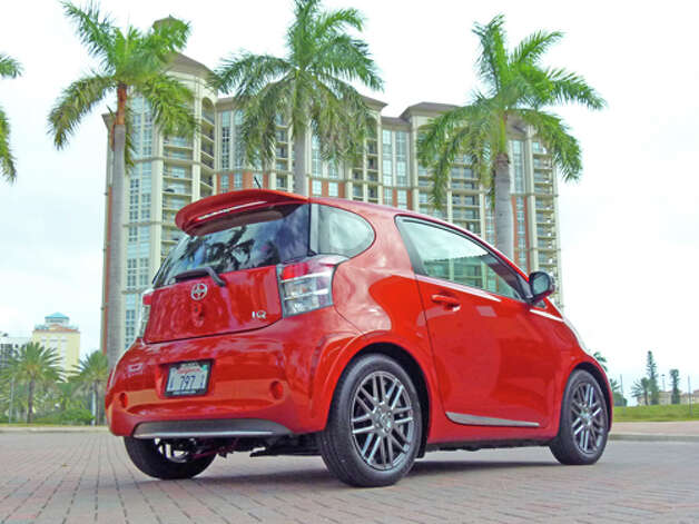 2012 Scion iQ (photo courtesy Toyota) Photo: Dan Lyons / Copyright: Dan Lyons 2011 - all rights reserved