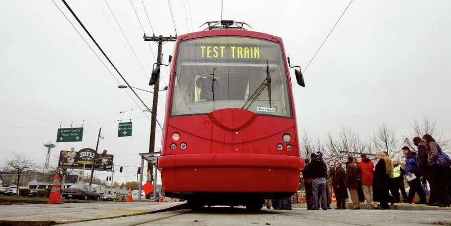 A new Seattle streetcar goes on a test run in 2007. City, county and VIA officials figured if it's good enough for other cities, it's good enough for San Antonio. So they found money in 2011 to fund a streetcar system. Photo: Associated Press, File Photo / AP2007