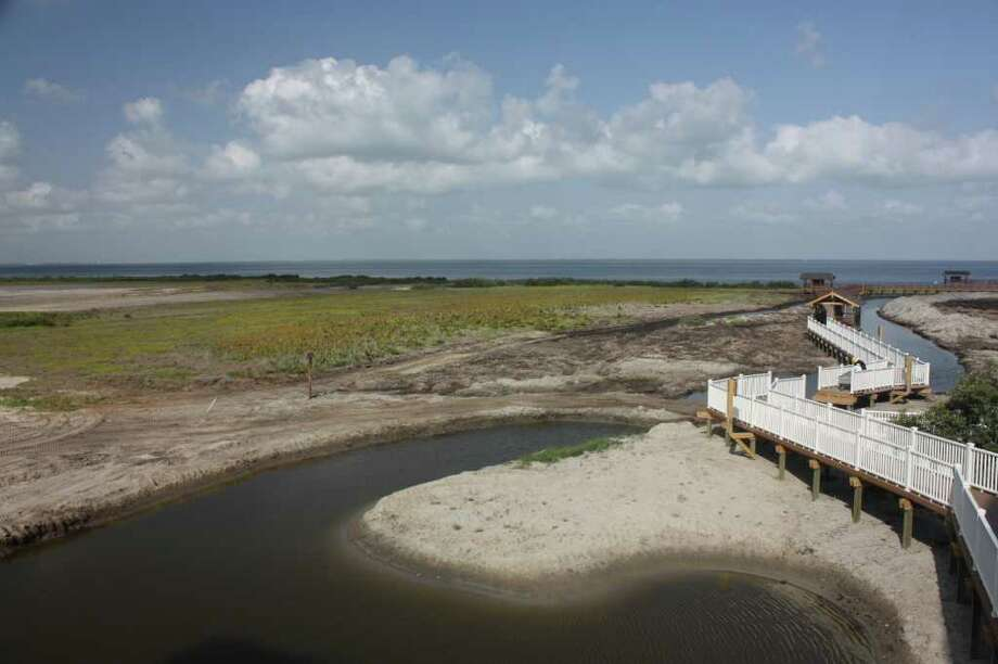 The South Padre Island Birding and Nature Center will open in September.   Credit: South Padre Island Convention and Visitors Bureua / email ~ Kristin Finan