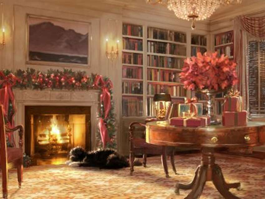 The 2011 Obama holiday card.